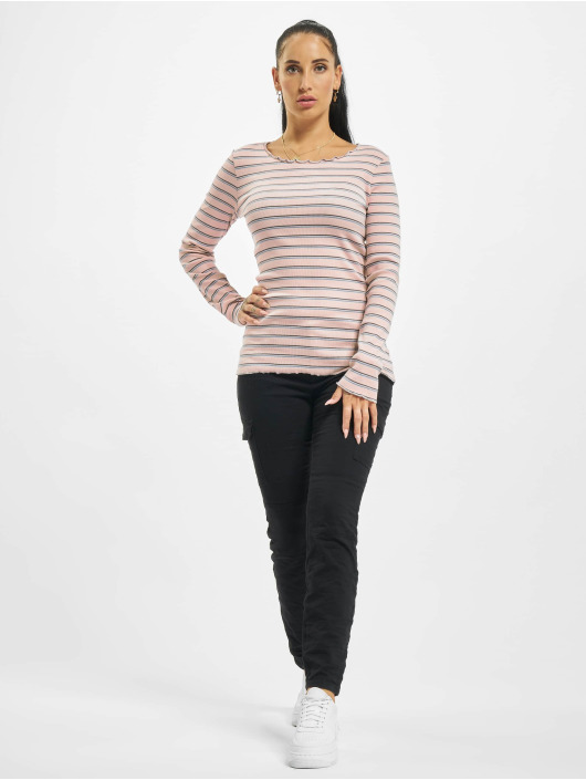 Eight2Nine Pitkähihaiset paidat Double Stripe roosa
