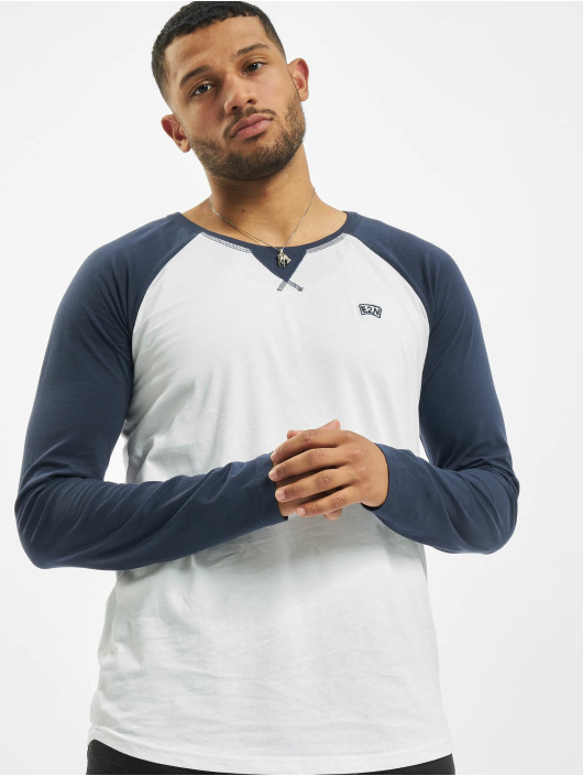 Eight2Nine Pitkähihaiset paidat E2N sininen