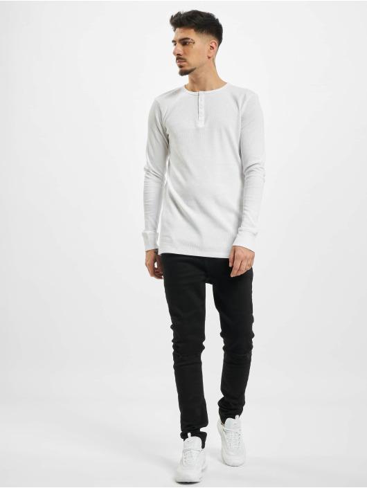 Eight2Nine Pitkähihaiset paidat Knit valkoinen