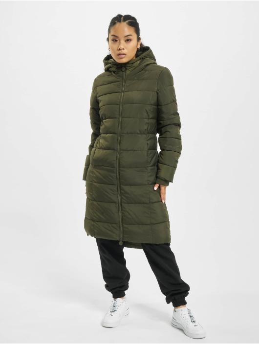 Eight2Nine Płaszcze Quilted zielony
