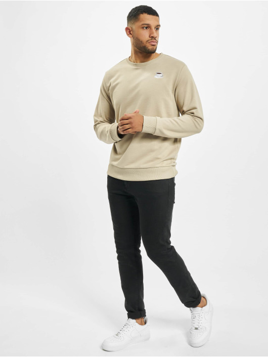 Eight2Nine Pullover Logo beige