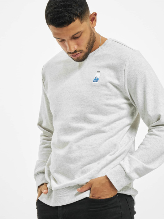 Eight2Nine Pullover Logo grey