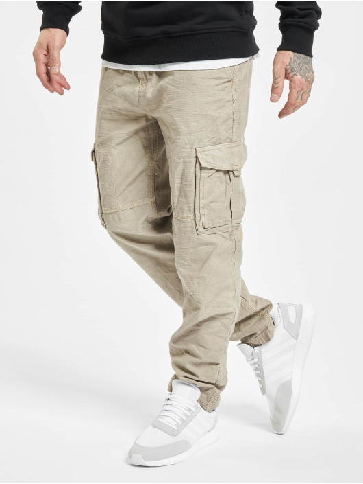 Eight2Nine Spodnie Chino/Cargo Vintage brazowy