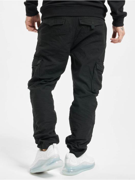 Eight2Nine Spodnie Chino/Cargo Vintage czarny