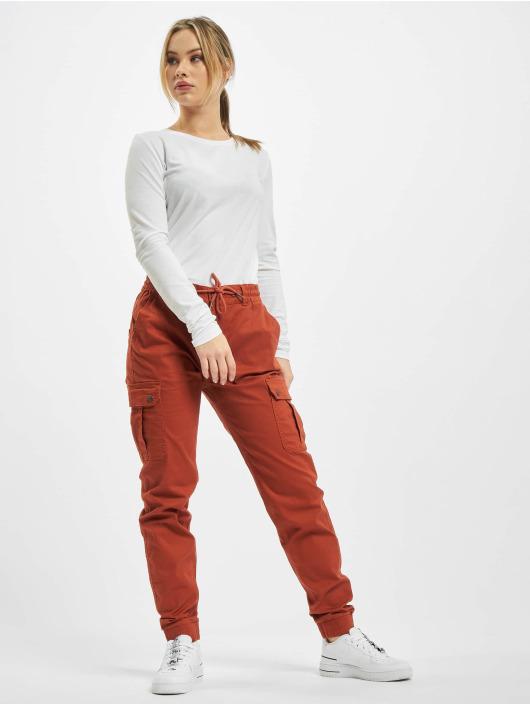 Eight2Nine Spodnie Chino/Cargo Anna czerwony