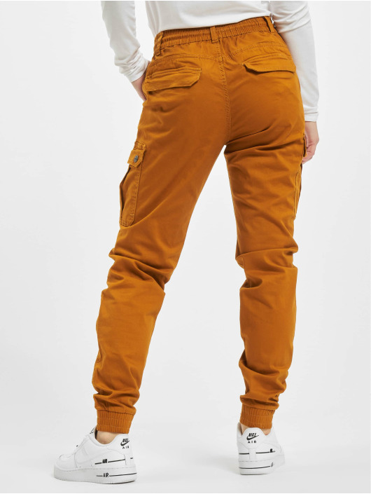 Eight2Nine Spodnie Chino/Cargo Anna pomaranczowy