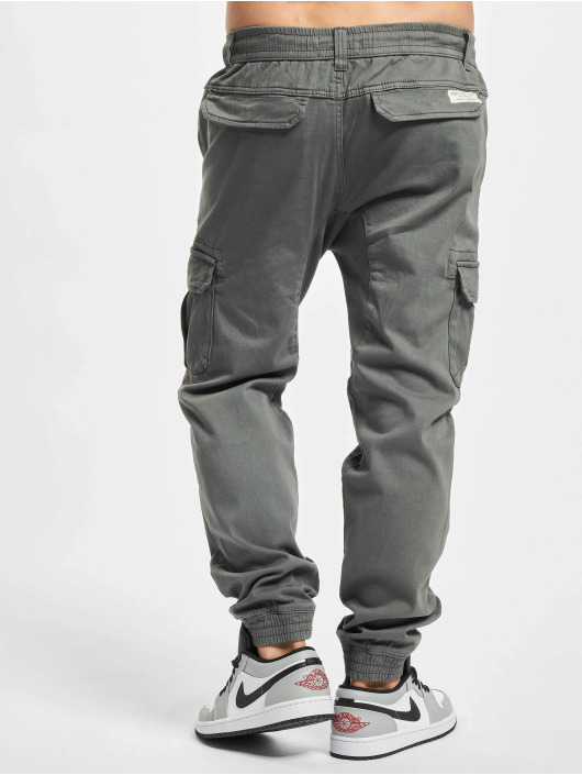 Eight2Nine Spodnie Chino/Cargo Nick szary