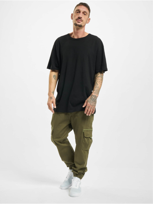 Eight2Nine Spodnie Chino/Cargo Two zielony