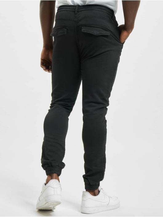 Eight2Nine Spodnie wizytowe Matteo czarny