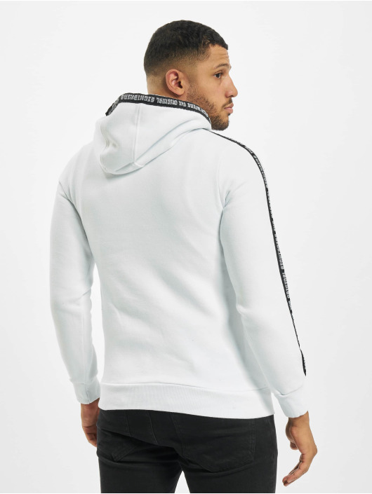 Eight2Nine Sweat capuche Tape blanc