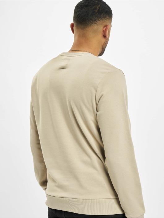 Eight2Nine Swetry Logo bezowy