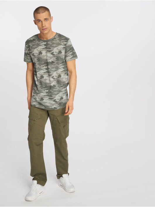 Eight2Nine T-Shirt Camo grau