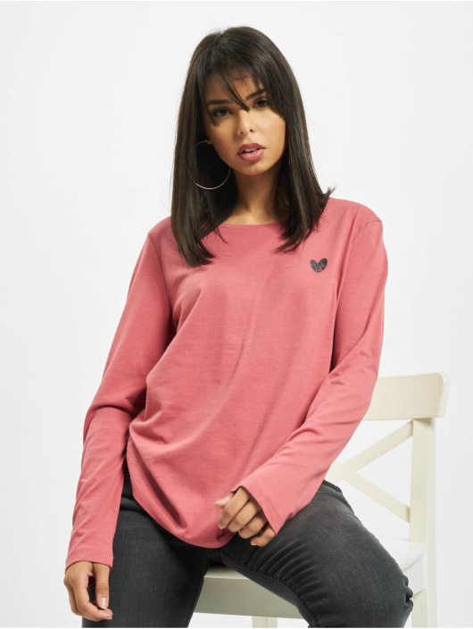 Eight2Nine T-Shirt manches longues Eight rose