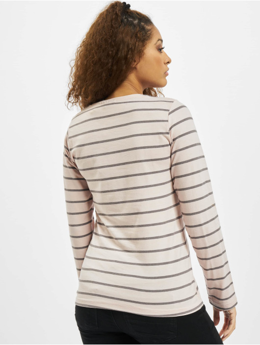 Eight2Nine T-Shirt manches longues Stripes rose