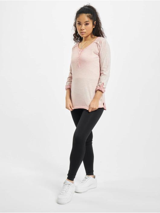 Eight2Nine T-Shirt manches longues Luana rose
