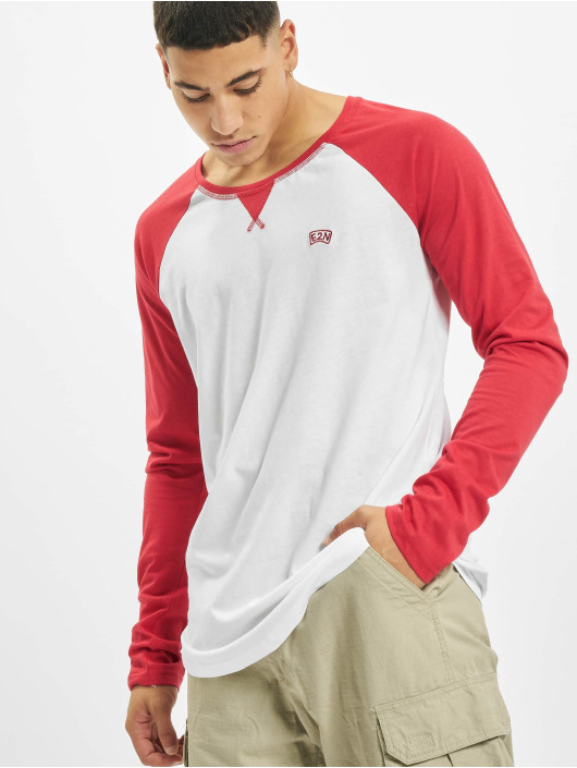 Eight2Nine T-Shirt manches longues E2N rouge