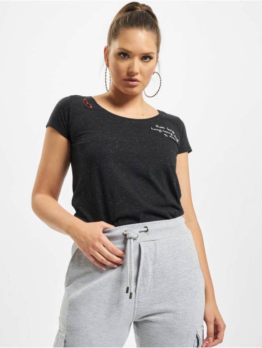 Eight2Nine T-Shirt Lazy schwarz