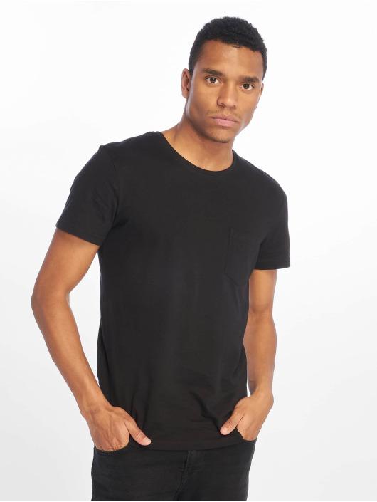 Eight2Nine T-Shirty Basic czarny