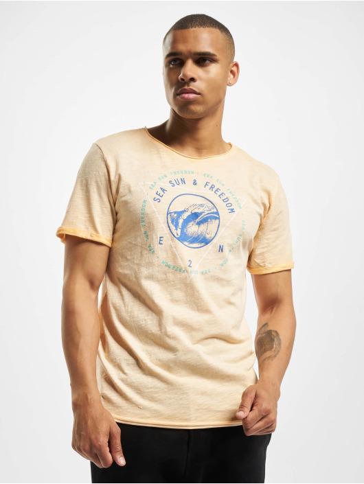 Eight2Nine T-Shirty Freedom pomaranczowy