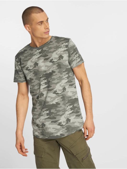 Eight2Nine T-skjorter Camo grå