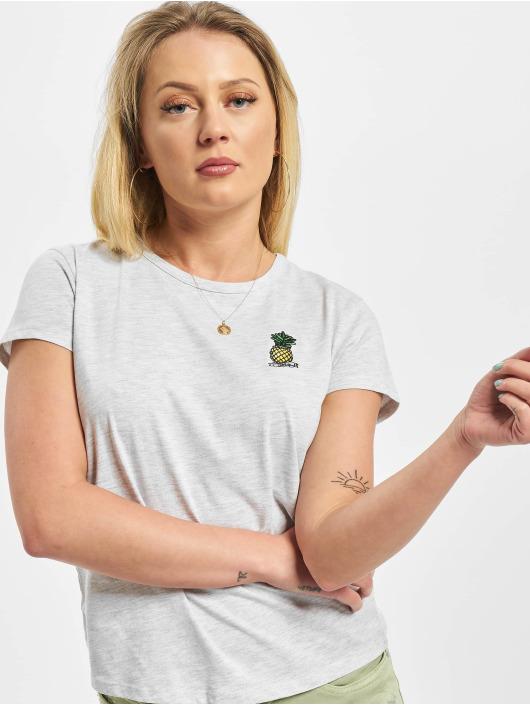 Eight2Nine T-skjorter Iniki grå