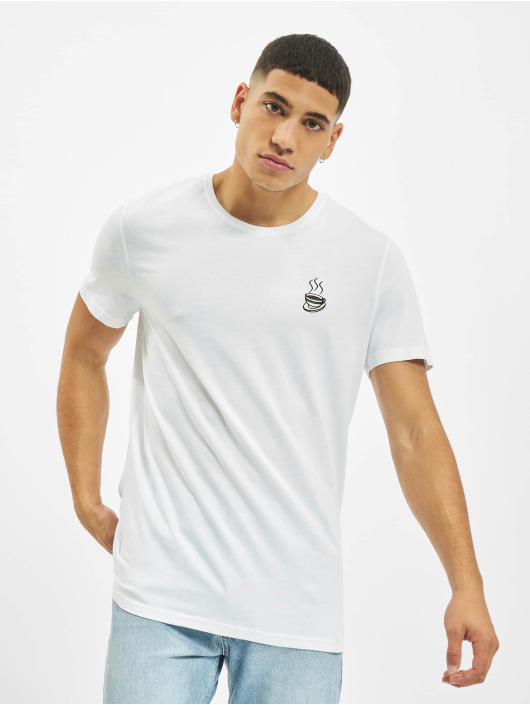 Eight2Nine T-skjorter Wheel hvit