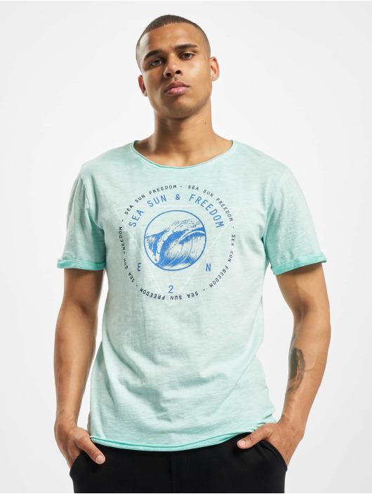 Eight2Nine T-skjorter Freedom turkis