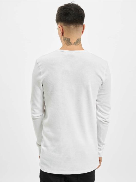 Eight2Nine Tričká dlhý rukáv Knit biela