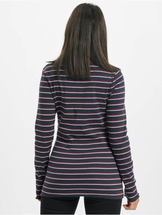 Eight2Nine Tričká dlhý rukáv Double Stripe modrá