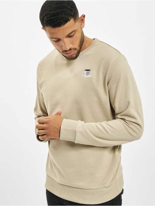 Eight2Nine trui Logo beige