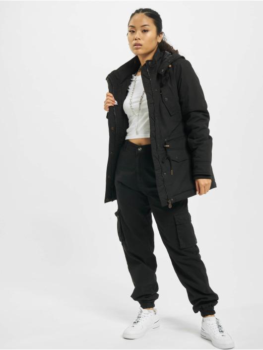 Eight2Nine Veste mi-saison légère Vintage noir