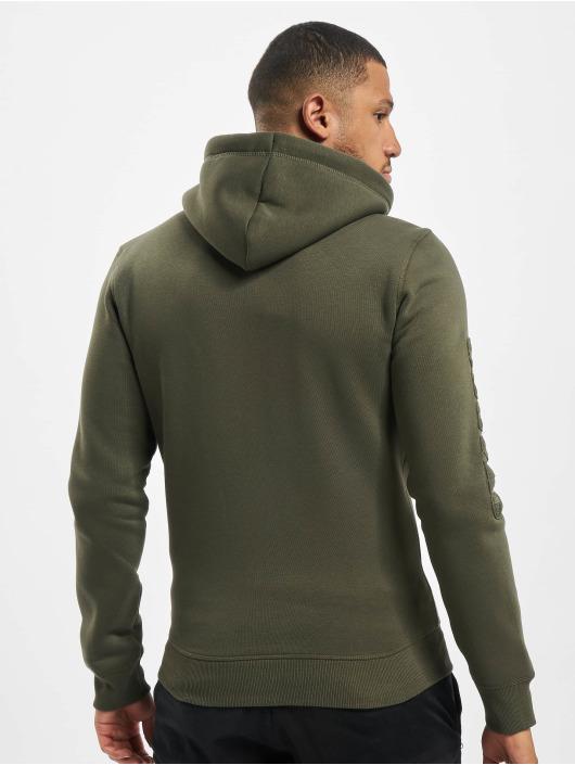 El Charro Hoodies con zip Lucas verde