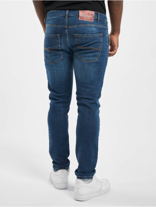 El Charro Jean slim Mexico 02 Denim bleu