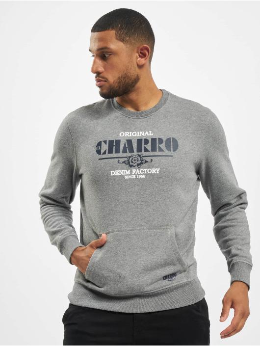El Charro Maglia Emmanuel grigio