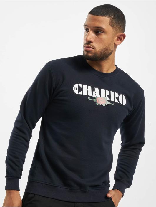 El Charro Pullover Damian blue