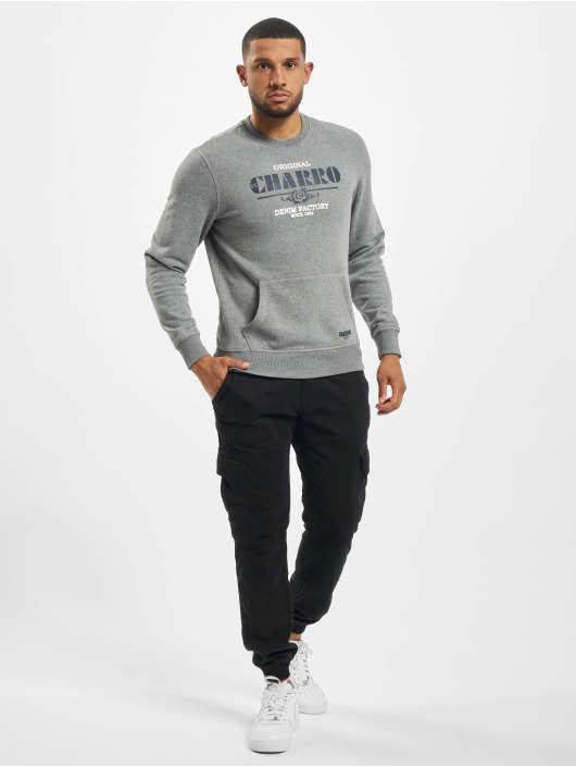 El Charro Pullover Emmanuel grey