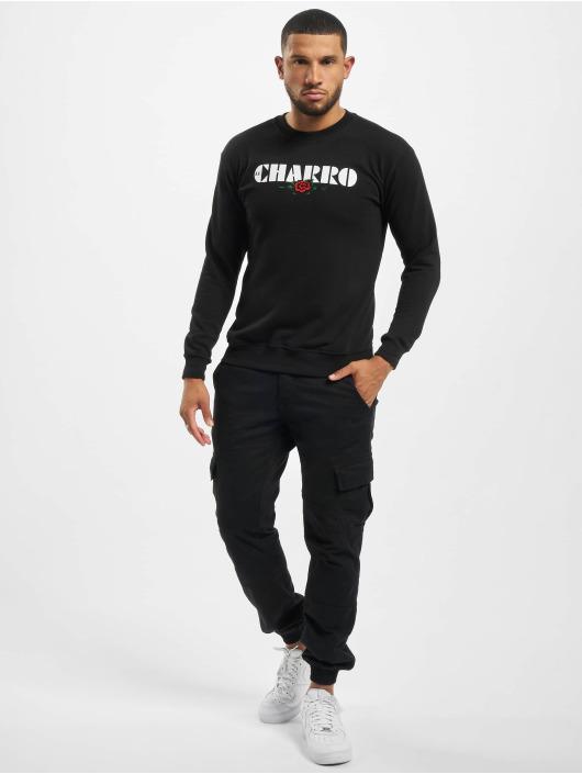 El Charro Pullover Damian schwarz