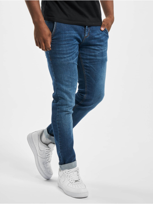 El Charro Slim Fit Jeans Mexico 02 Denim blauw