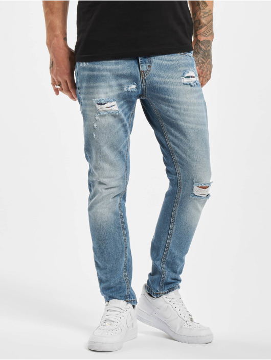El Charro Slim Fit Jeans Canuto blu