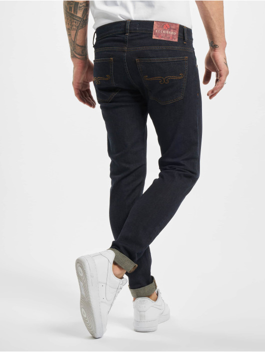 El Charro Slim Fit Jeans Chicanos blue
