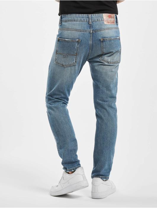 El Charro Slim Fit Jeans Canuto modrý
