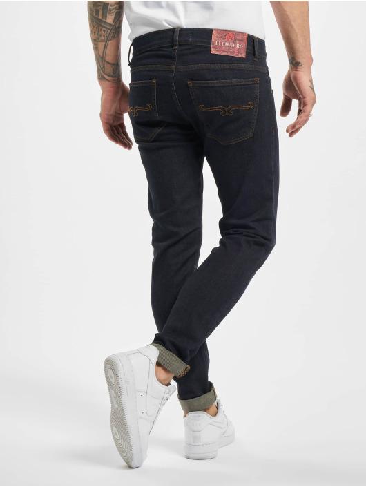 El Charro Slim Fit Jeans Chicanos modrý