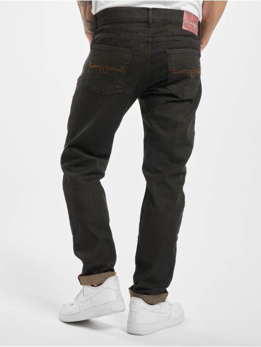El Charro Slim Fit Jeans Chicanos sort