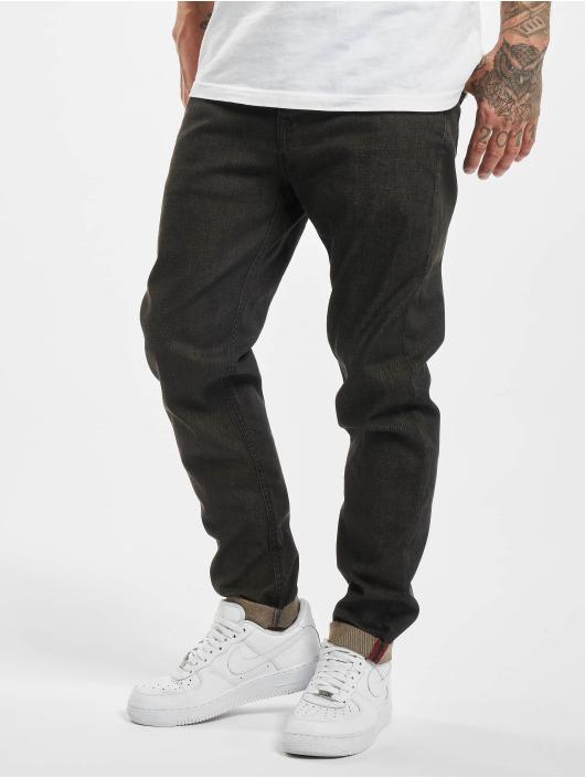 El Charro Slim Fit Jeans Chicanos svart