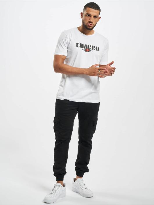 El Charro T-shirt Alfredo bianco