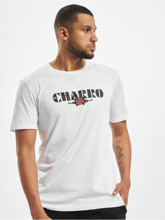 El Charro T-Shirt Alfredo blanc