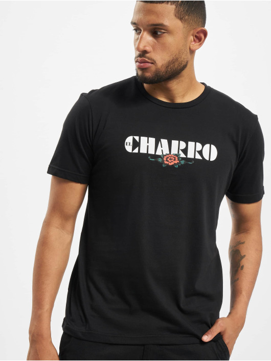 El Charro T-Shirty Alfredo czarny