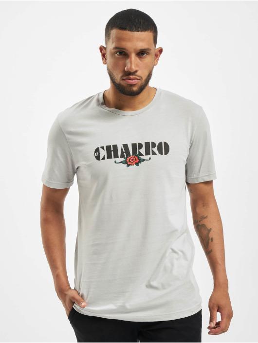 El Charro T-skjorter Alfredo grå