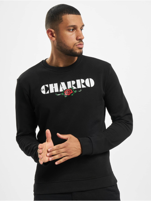 El Charro trui Damian zwart