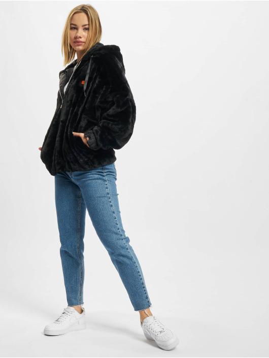 Ellesse Демисезонная куртка Giovanna черный